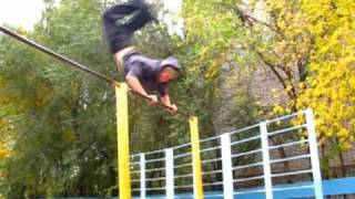 турник брусья акробатика 3run & pk! Video report for 2009!