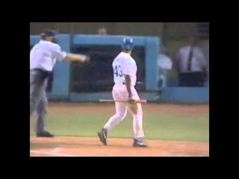 Dodgers Forfeit To The Cardinals on ESPN Sportcenter, August 1995