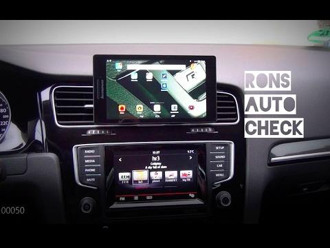 VW Golf 7 Beste Navi und Smartphone Halterung