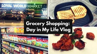 Indian Grocery Shopping-Day in My Life Vlog | Indian Grocery Haul | Grocery Shopping India | Saloni
