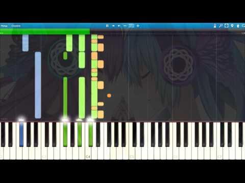[Hatsune Miku and Megurine Luka] magnet Piano Synthesia Tutorial