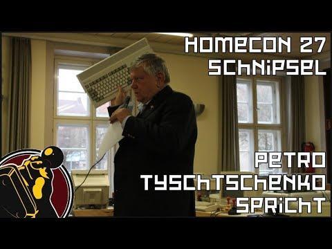 Petro Tyschtschenko spricht | HomeCon 27 Schnipsel (2)