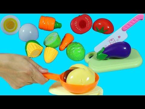 Oyuncak Sebze Meyve Evcilik Oyunu | Oyuncak Yemek Yapma | EvcilikTV