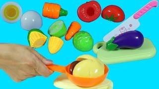 Oyuncak Sebze Meyve Evcilik Oyunu   Oyuncak Yemek Yapma   EvcilikTV