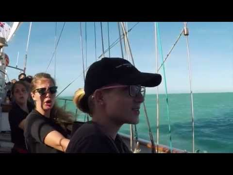 Young Endeavour voyage to North West Australia