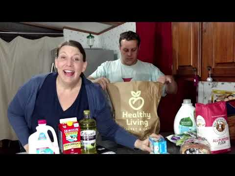 Organic Grocery Haul at Walmart and Healthy Living, Saratoga New York