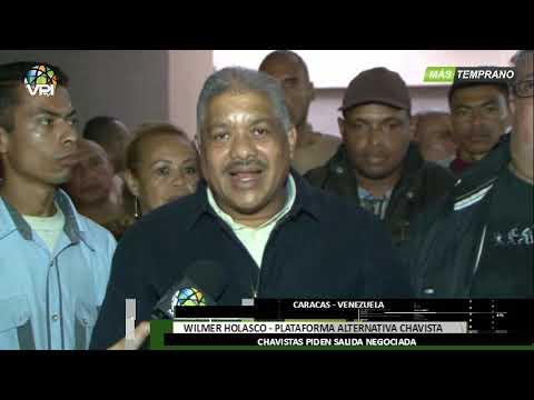 Venezuela - Chavismo crítico pide una salida negociada del Gobierno de Maduro - VPItv