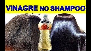 Coloque Vinagre no seu Shampoo e Veja Rapidamente a Diferença e Recuperação de Danos