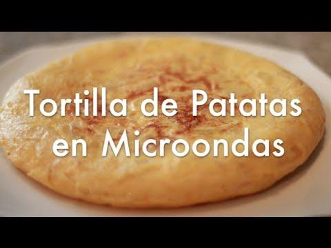 Tortilla De Patatas En Microondas Súper Fácil Recetas De Cocina