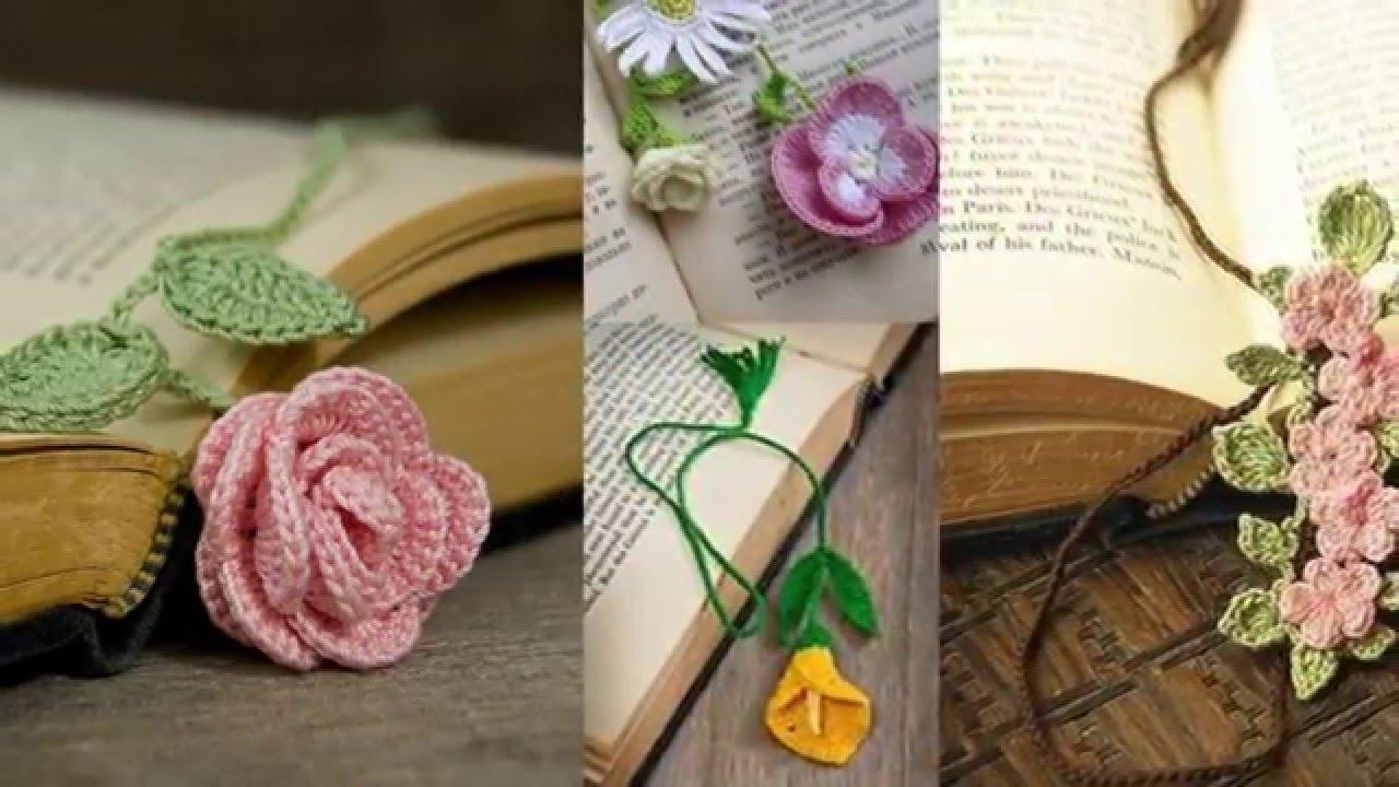Закладка для книг крючком своими руками