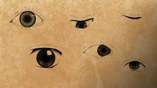 Профессиональные Курсы Рисования Манги. Урок 2. Глаза [Промо]