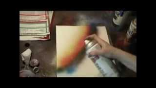 Spray Paint Art Techniques - Spray Painting Lessons