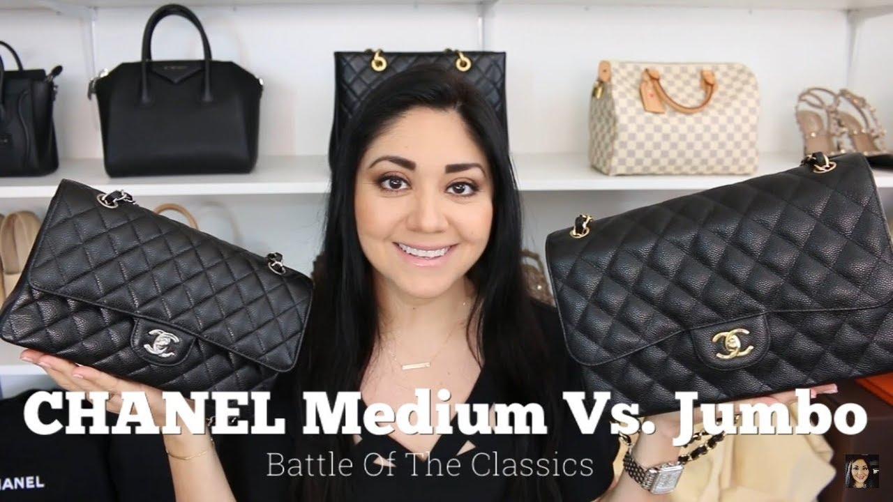 b5210ea5935690 CHANEL M/L Vs. Jumbo | Battle Of The Classics - YouTube