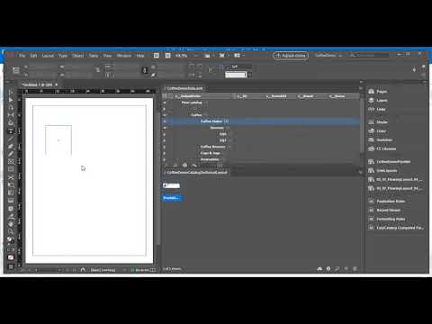 Perfion - Print Data Using Adobe InDesign | Western Computer