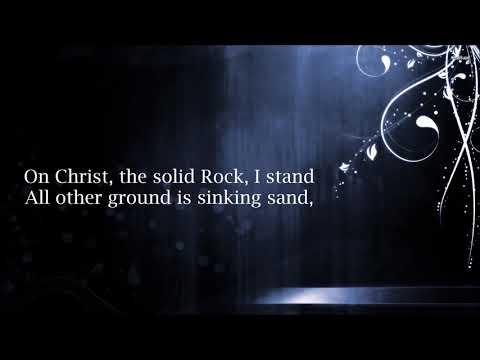 Worship Medley - In Christ Alone / Cornerstone / The Solid Rock | Caleb + Kelsey Mashup (Lyrics)