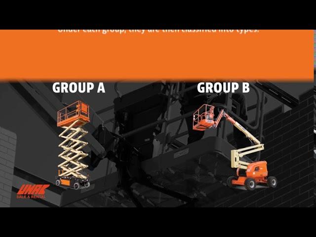 Xe nâng người JLG giới thiệu tiêu chuẩn mới có nhiều tính năng thay đổi