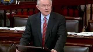 CLIMATE CHANGE ACT: Sen. Jeff Sessions (R-AL) Free HD Video