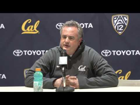 Cal Football: Sonny Dykes Post-Game Press Conference vs WSU (11/12/16)
