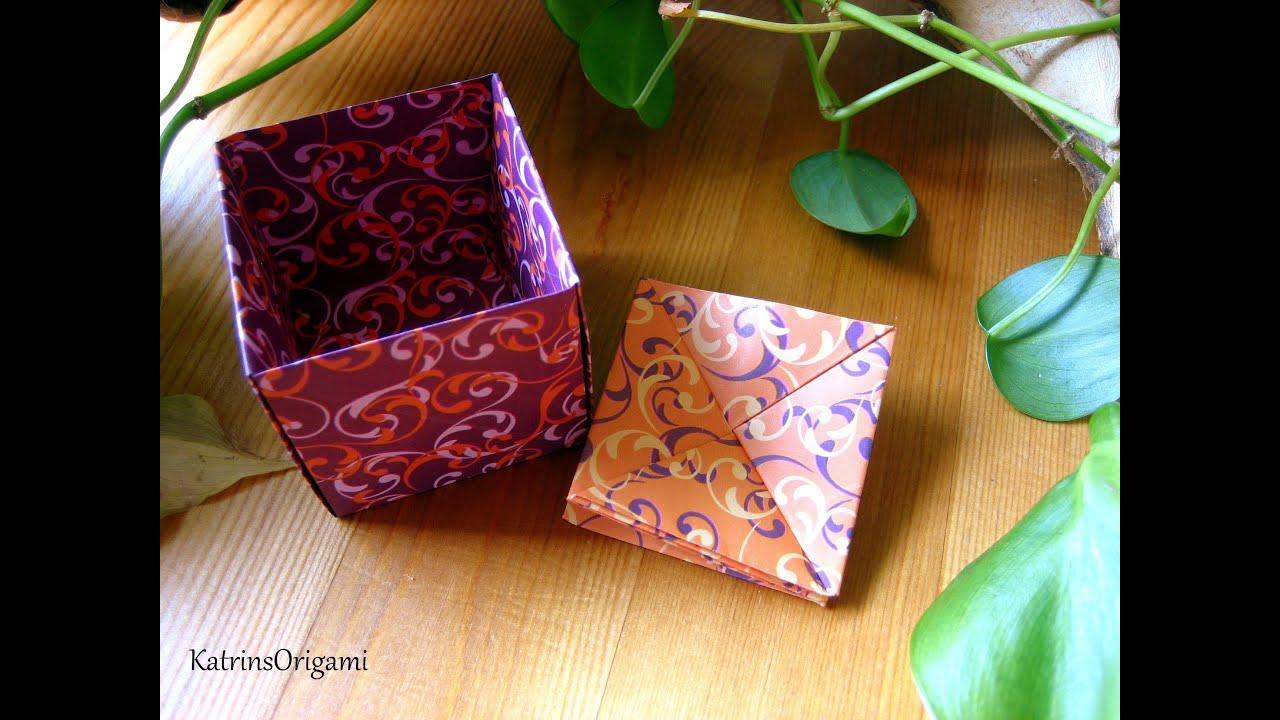 Origami Coin Purse Portemonnaie - YouTube - photo#1