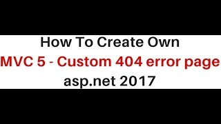 How to fix asp.net 404 error handling