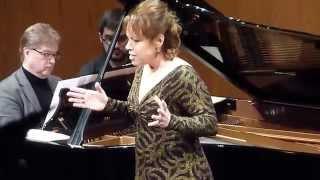 Nina Stemme -  Nana's Lied ( Kurt Weill) Liceu 24/03/14