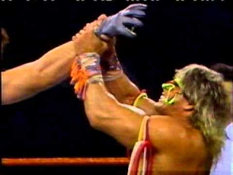 The Undertaker vs. The Ultimate Warrior - YouTube