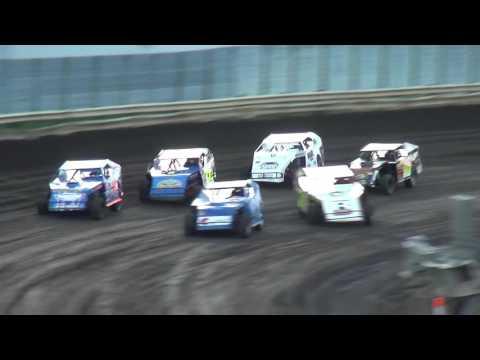 IMCA Modified Heats Lee County Speedway 8/19/16