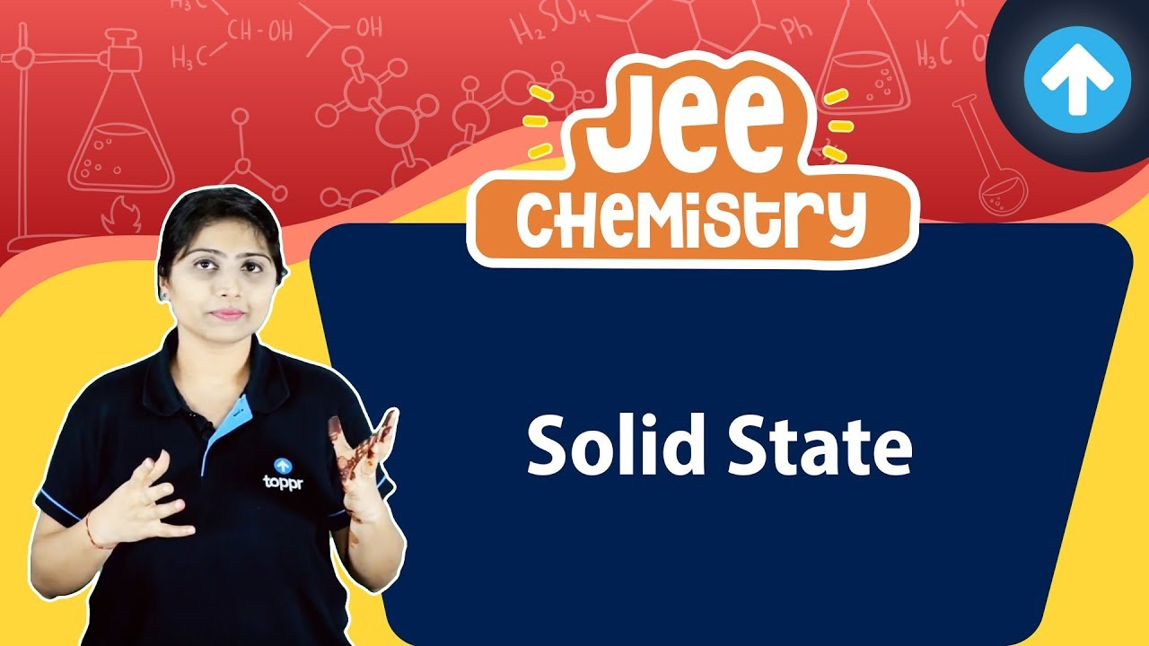 Solid State   Gaseous State   JEE Chemistry   English