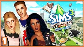 The Sims 3: University Life | Part 1 | Welcome to Sims University!