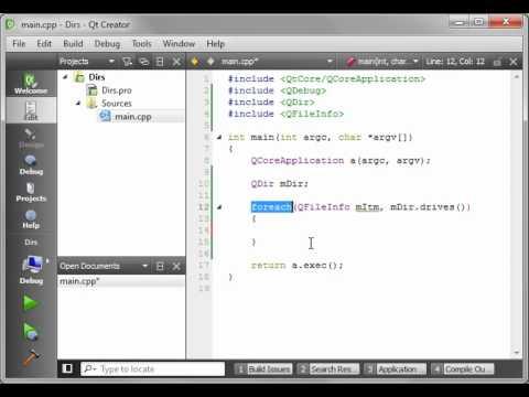 C++ Qt 11 - QDir