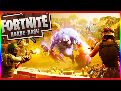 HORDE BASH IS HERE!! Fortnite 1.7 Gameplay