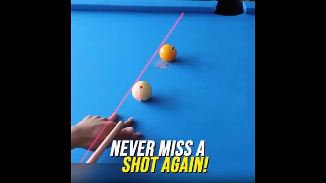 Snooker Laser Aiming Billiards Training Device🎱