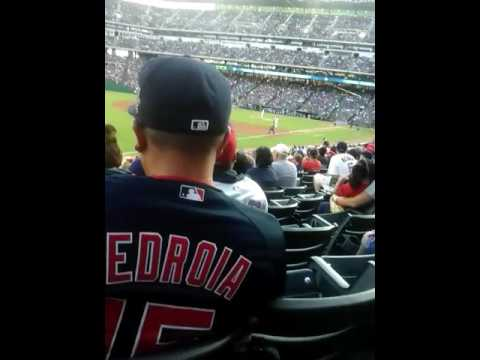 First home run vs Boston at globe life stadium