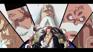 Why Is Shanks At Mary Geoise