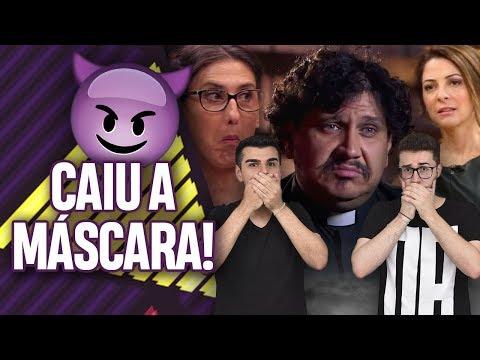 MASTERCHEF: CAIU A MÁSCARA DO PADRE EVANDRO! | Virou Festa