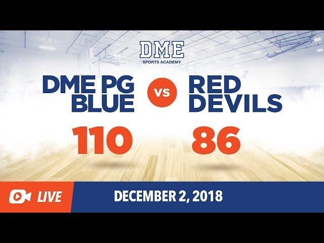 DME PG Blue Vs. Red Devils