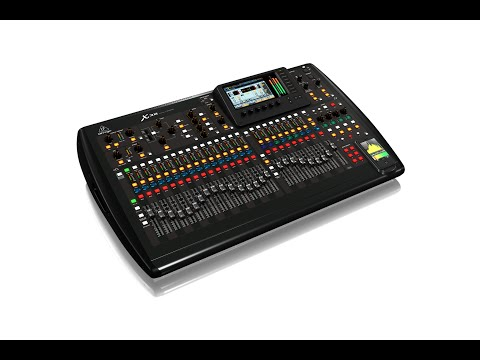 X32 40-Input, 25-Bus Digital Mixing Console with 32 Programmable MIDAS Preamps, 25 Motorized Faders