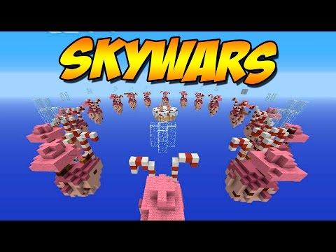ME DICEN HACKER 2 VECES - Skywars