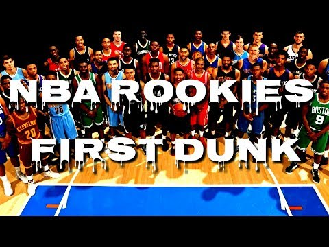 NBA Rookies First Dunk