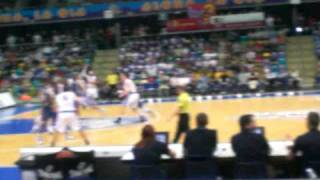 Basketballspiel der Skyliners!