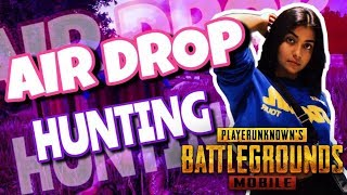INDIAN GIRL Live | Pubg | Airdrop Hunting | Paytm ShOutOut |