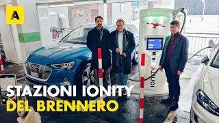 Caricare a 350 kW le auto elettriche | Sul Brennero arriva IONITY