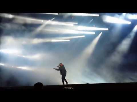 Drake live concert in Poland ( Opener Festival 2015)