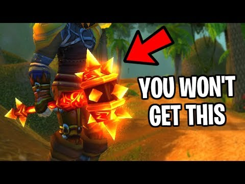 Why You Will Never Get A Legendary In Classic WoW
