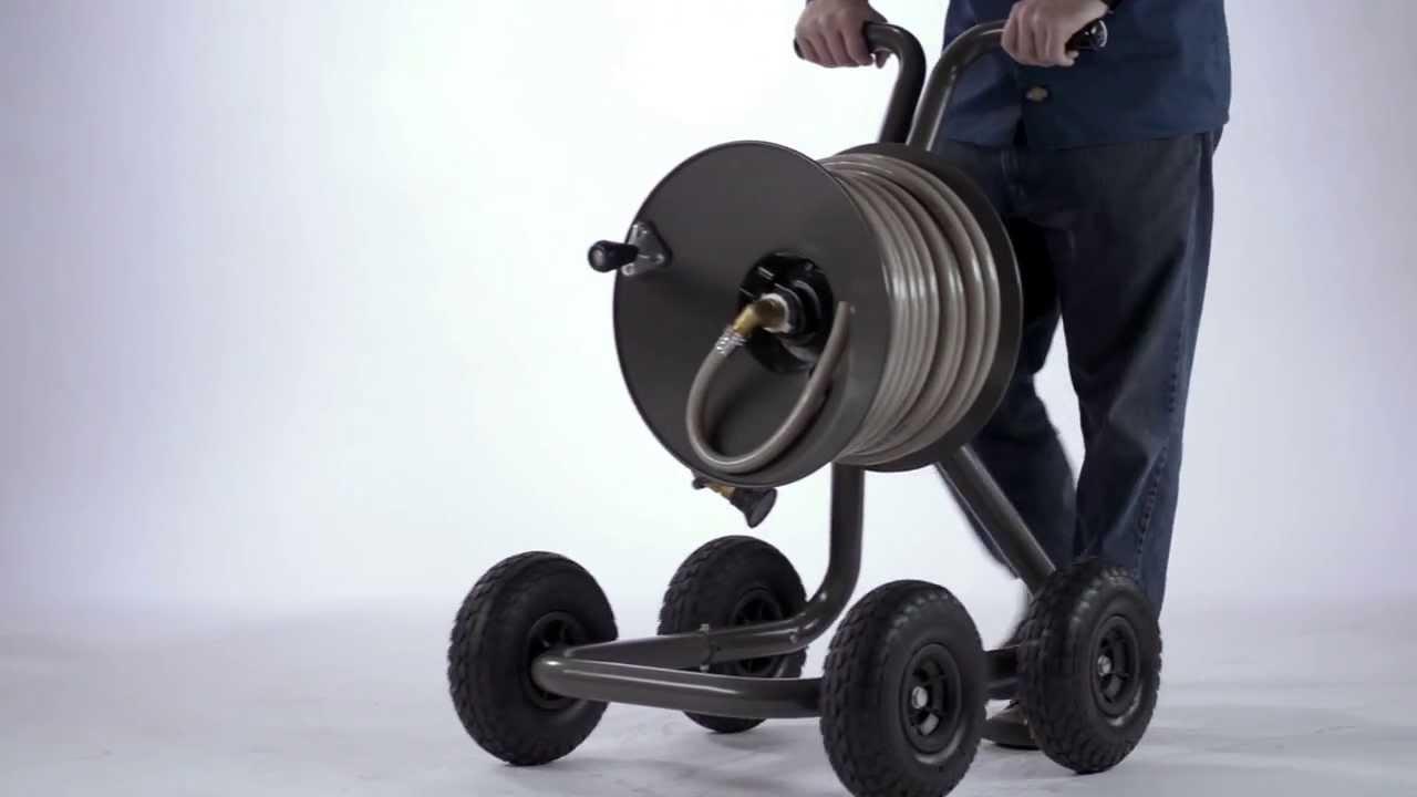 Eley Hose Reels: Cart Model 1043   YouTube