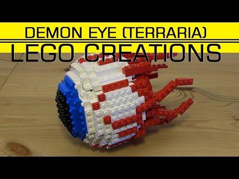 LEGO DEMON EYE (Terraria) - YouTube