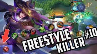 FANNY Fresstyle KILLER | MONTAGE MAZE #10 | Mobile Legends Bang Bang