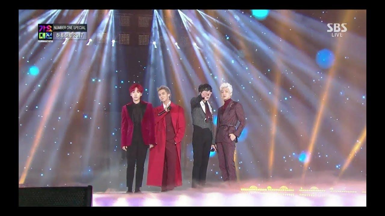 WINNER - '하루하루(HARU HARU)' + 'REALLY REALLY' in 2017 SBS Gayodaejun