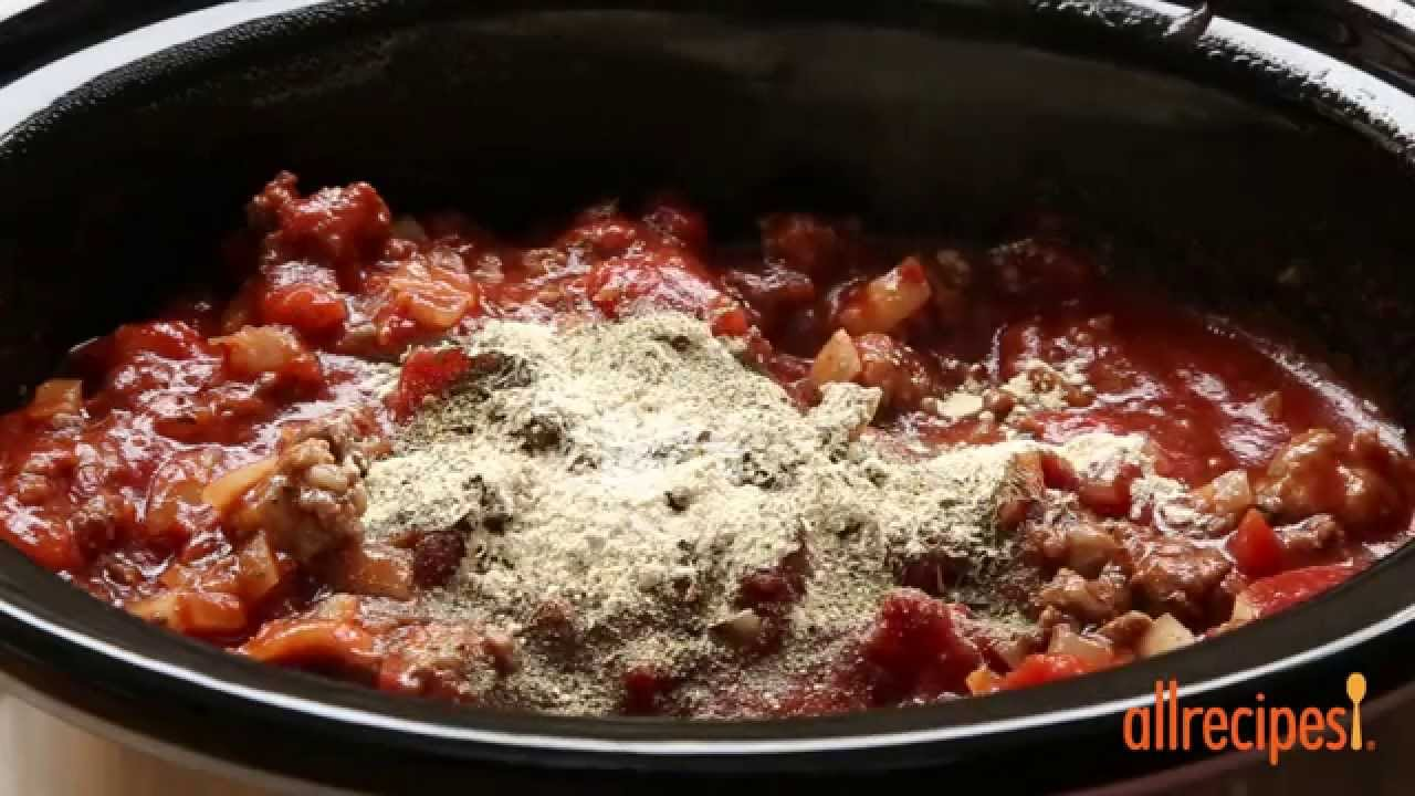how to make slow cooker spaghetti sauce slow cooker. Black Bedroom Furniture Sets. Home Design Ideas