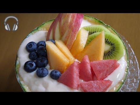 朝ごはん作ってみた『強・フルーチェ』